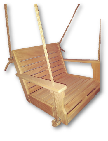Image of rope chair swing