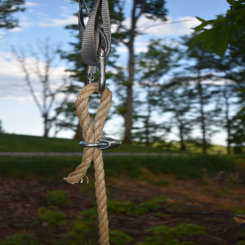 Image of Tree Swing Rope Clamps 4 Pack