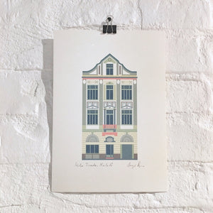 Budapest Pattern - Mika Tivadar House Print