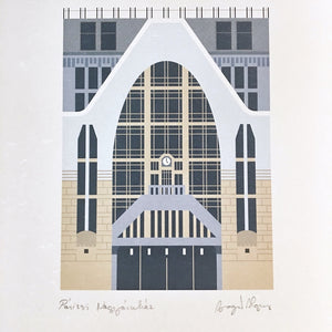 Budapest Pattern - Paris Department Store Print
