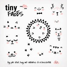 Tiny Faces Sticker Collection