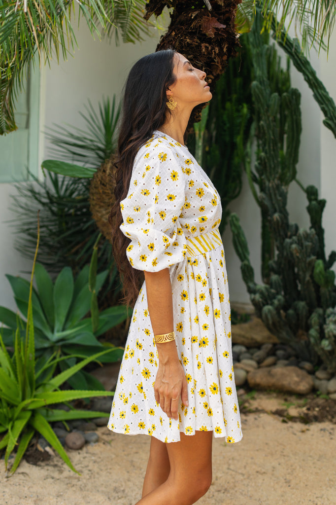 Yellow Daisy Day Dress