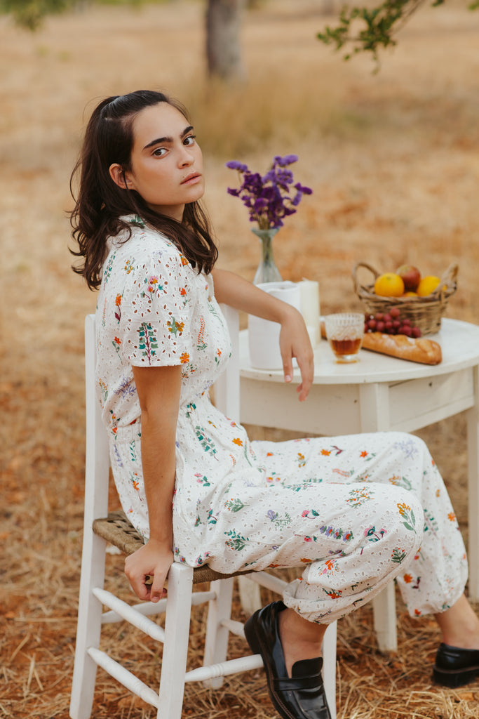 Summer Herbs Jumpsuit