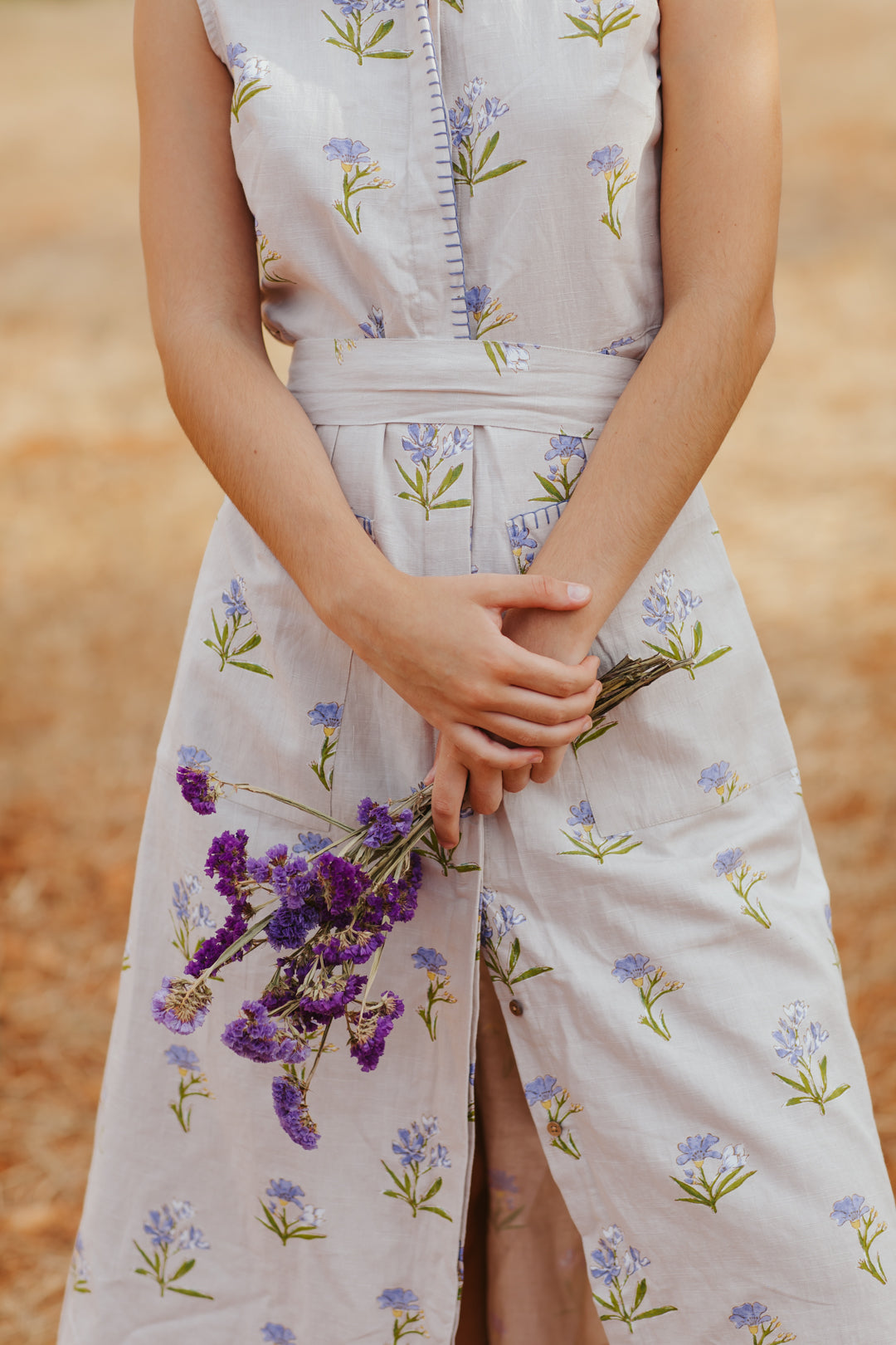 Sweet Lavender Sun Dress