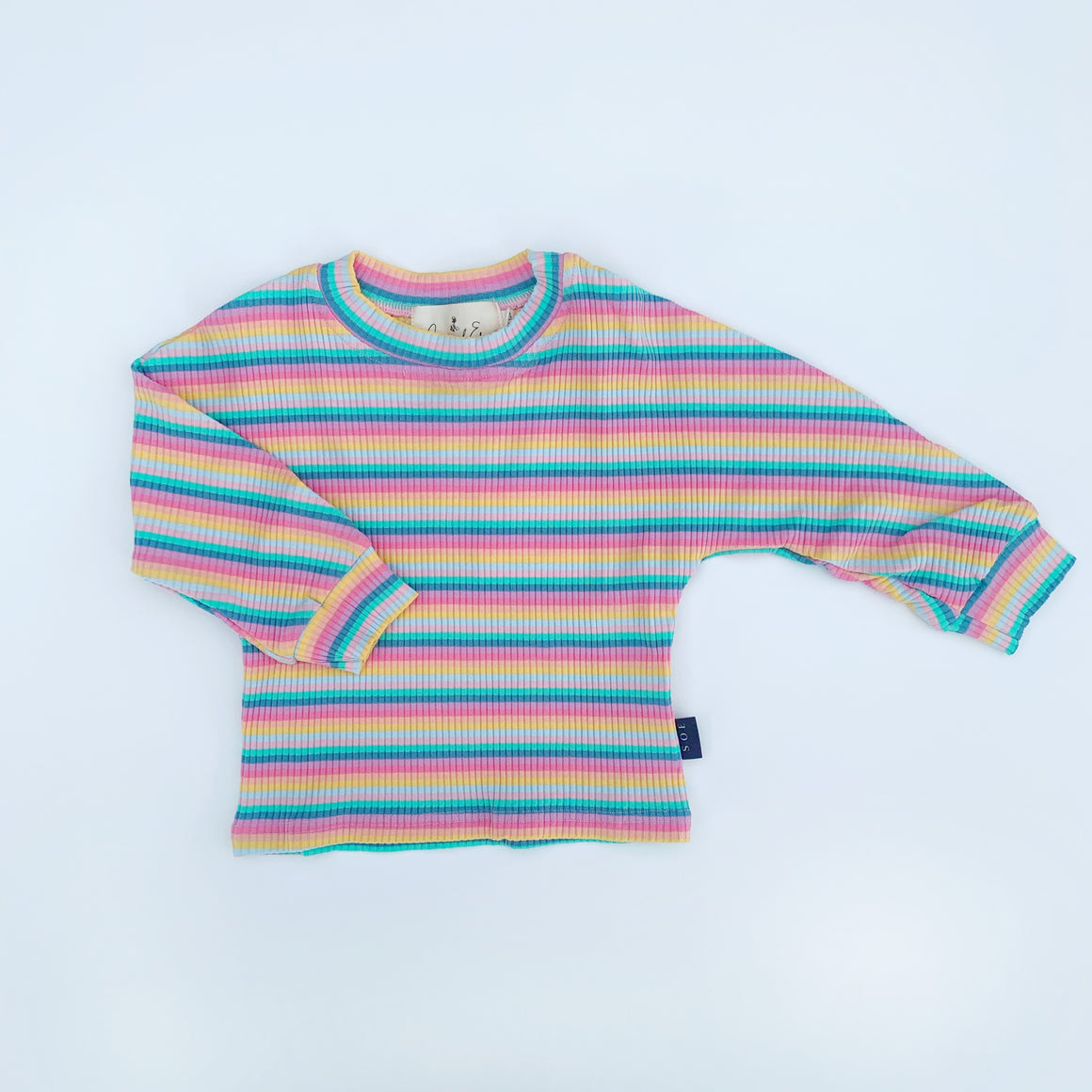 lollipop stripe tee
