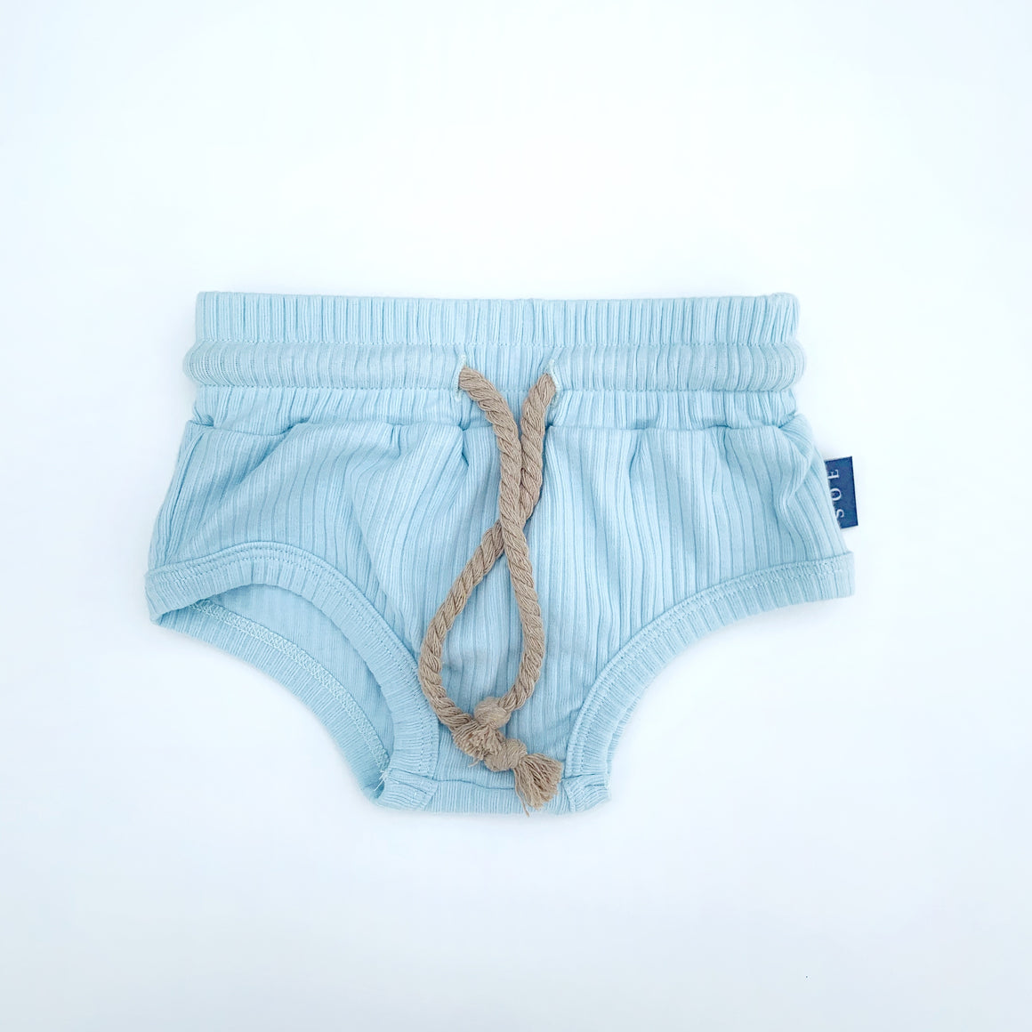 sky blue kids shorts