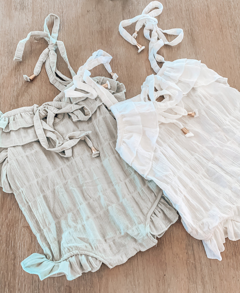 White Eve Romper