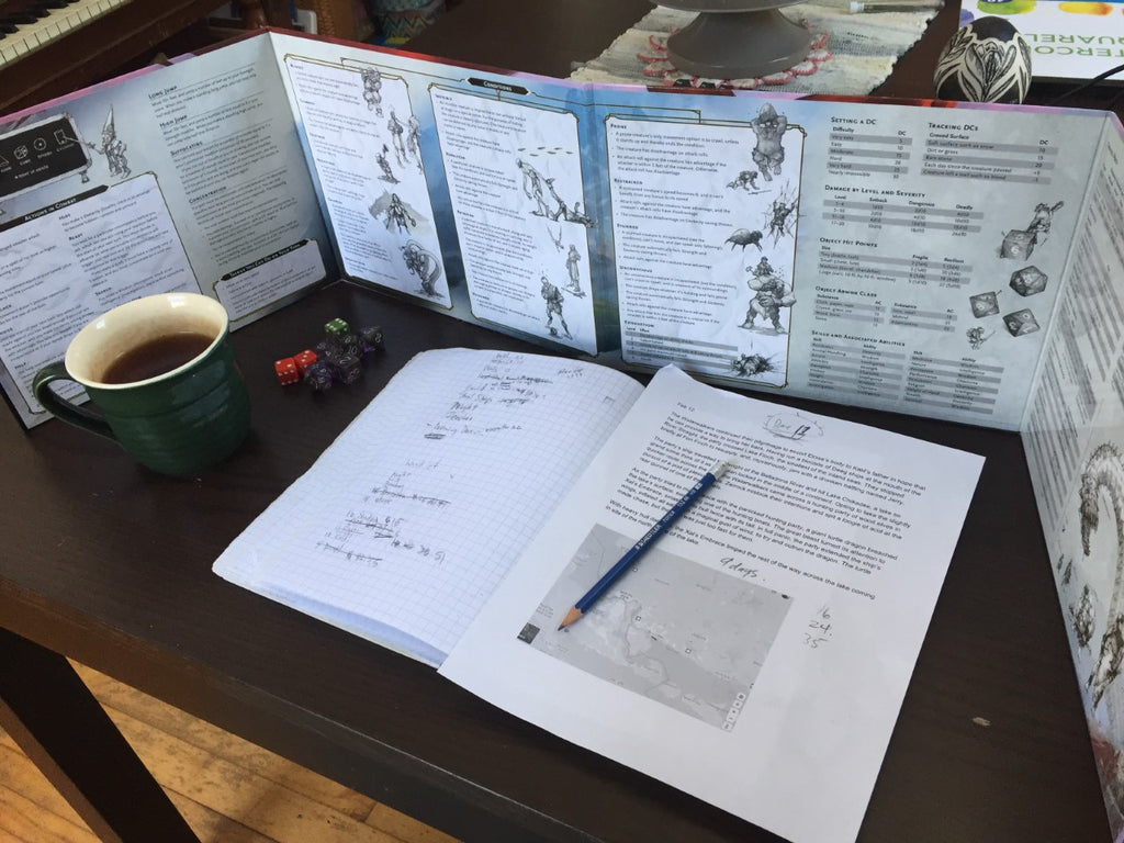 Tea makes D&D better