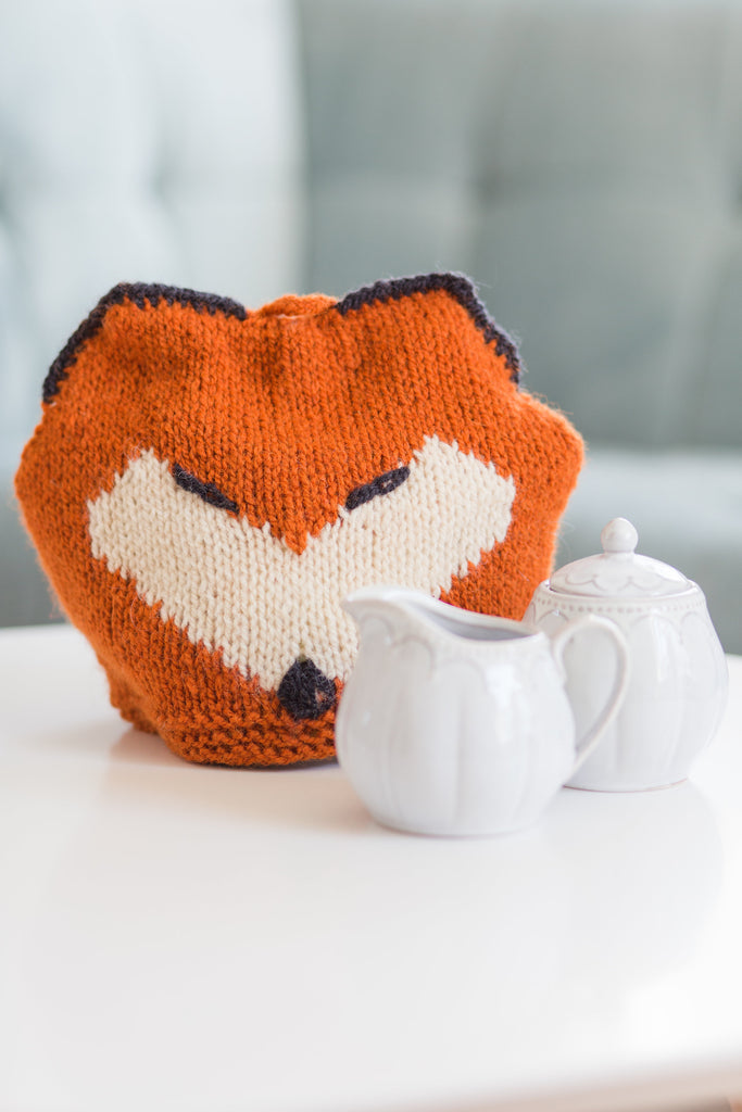 Fox Tea Cozy - Lady Baker's Tea