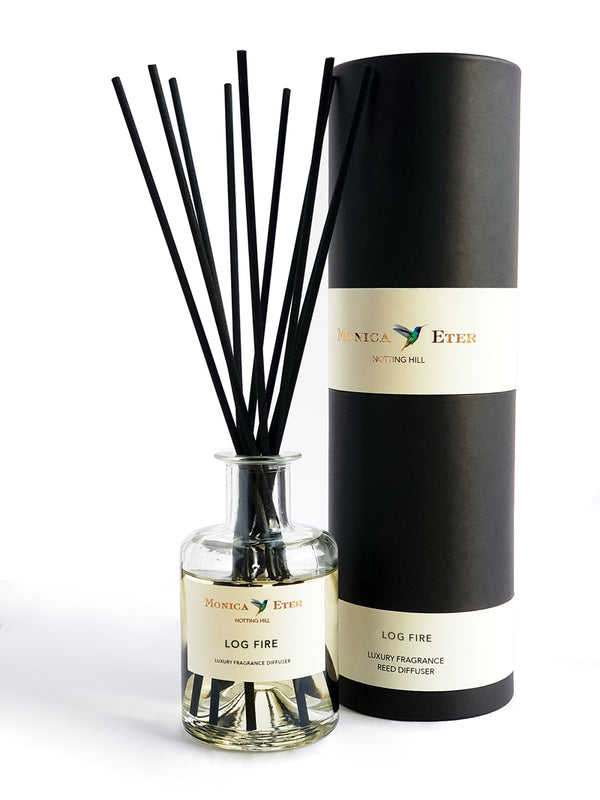 Log Fire Diffuser 200ml - DiP Candles