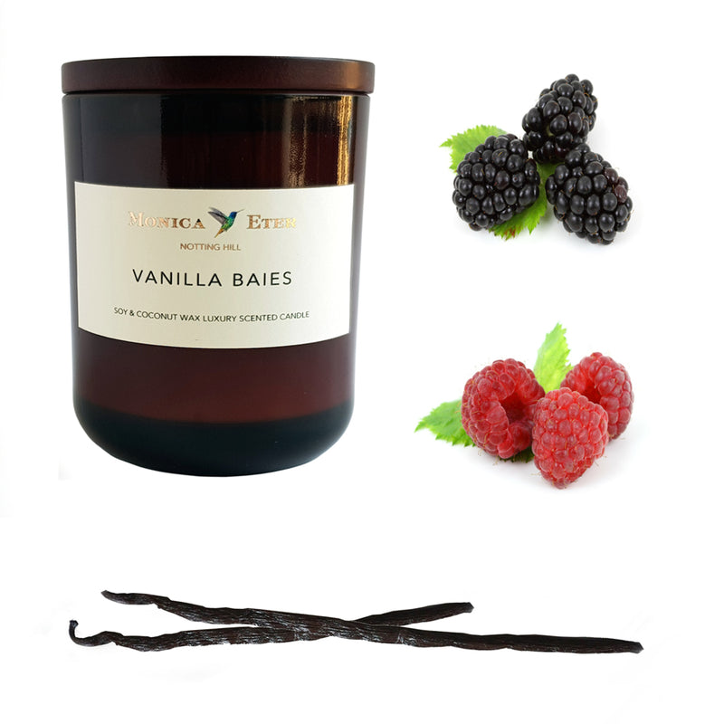 Vanilla Baies Scented Candle Small - DiP Candles