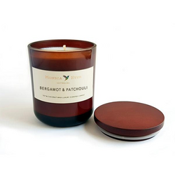 Bergamot & Patchouli Scented Candle Small - DiP Candles