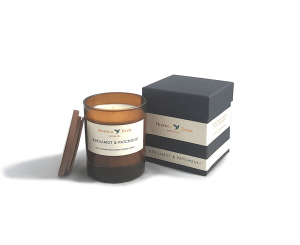 Bergamot & Patchouli Scented Candle Standard