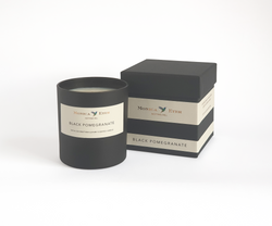 Black Pomegranate Scented Candle Standard