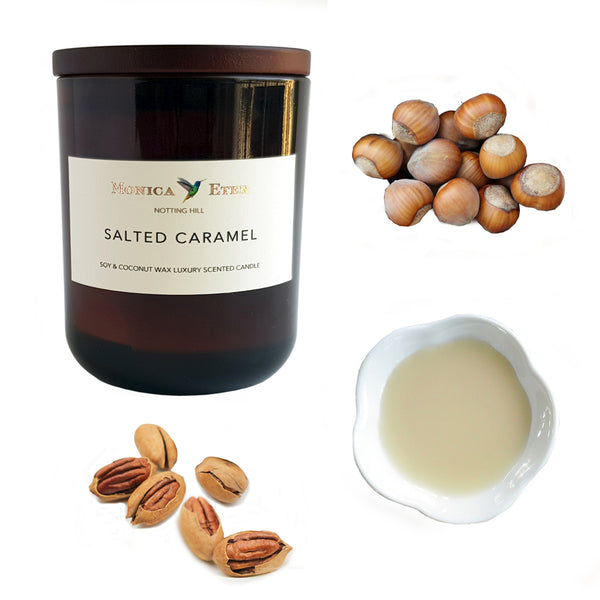 Salted Caramel Scented Candle Small - DiP Candles