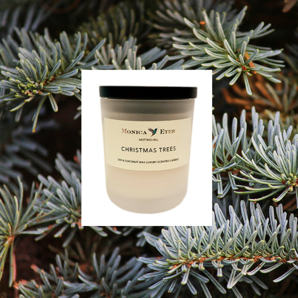 Christmas Trees Candle Small - DiP Candles