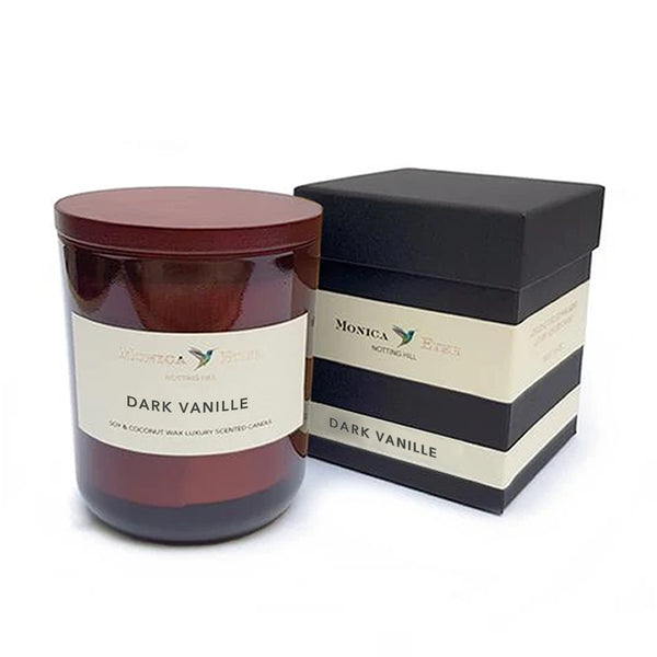 Dark Vanille Scented Candle Large