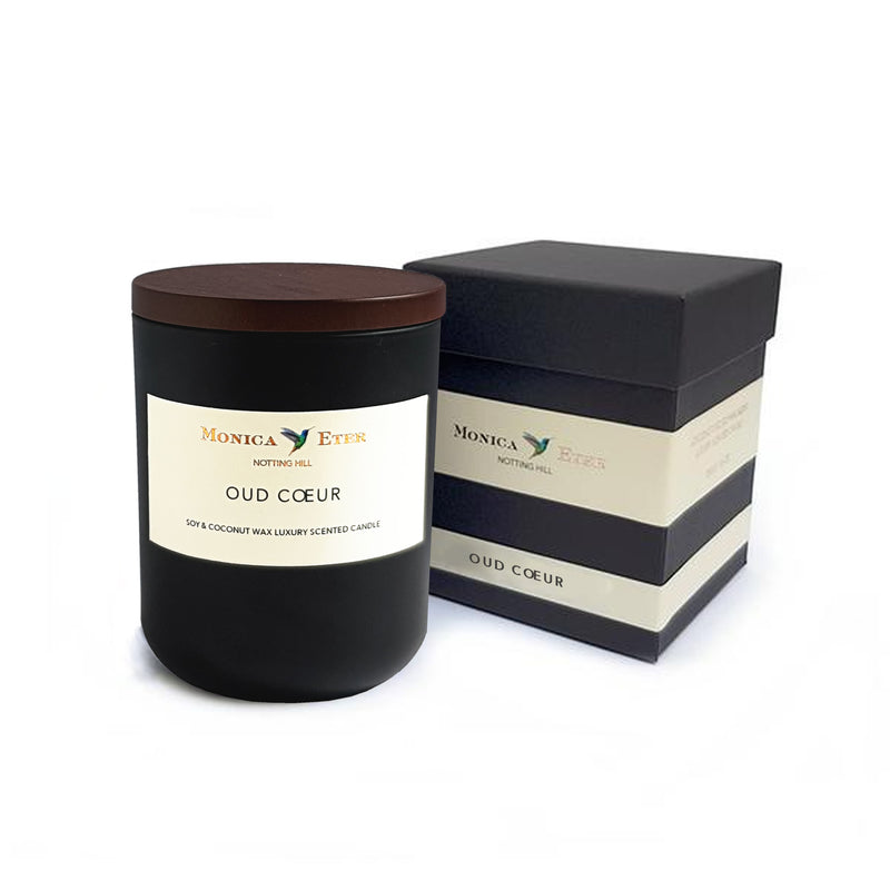 Oud Cœur Scented Candle Large - DiP Candles