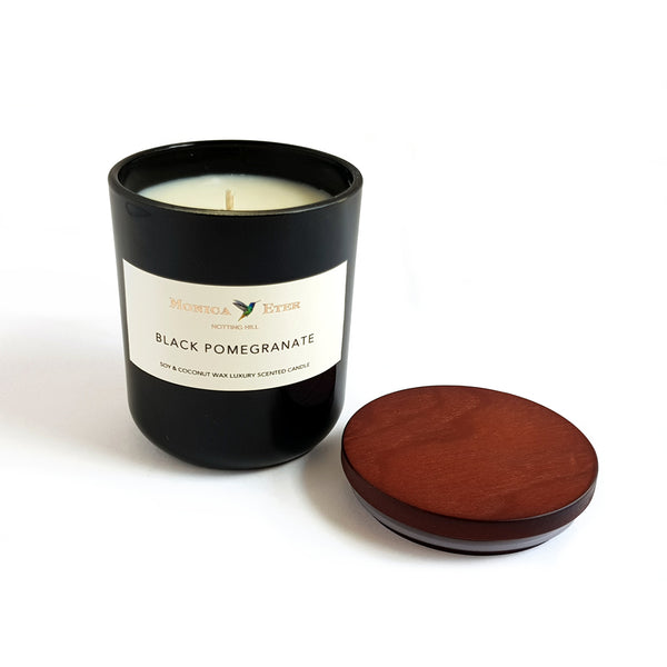 Black Pomegranate Scented Candle Small - DiP Candles