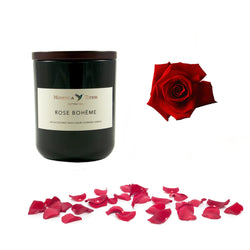 Rose Bohème Scented Candle Small - DiP Candles
