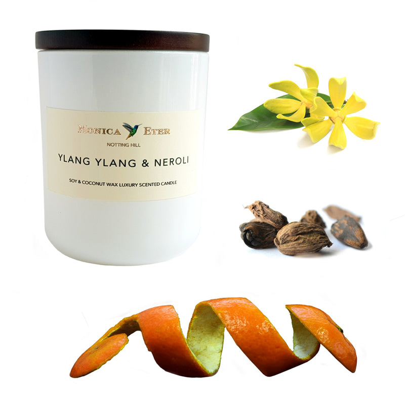 Ylang Ylang & Neroli Scented Candle Small - DiP Candles