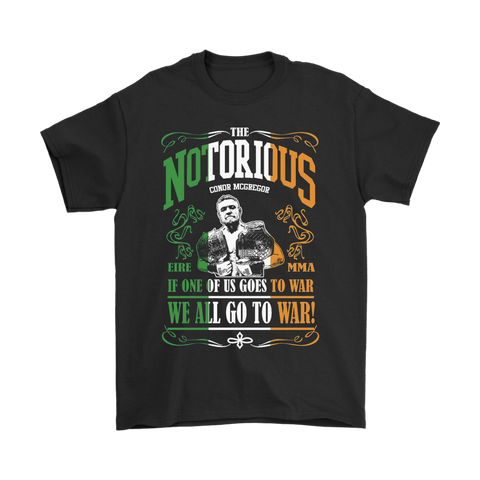 We All Go To War Tee