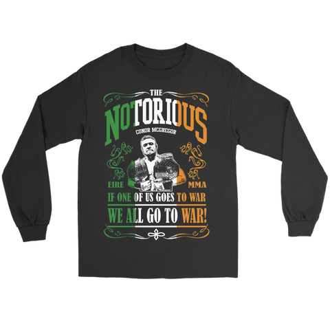 We All Go To War Long Sleeve