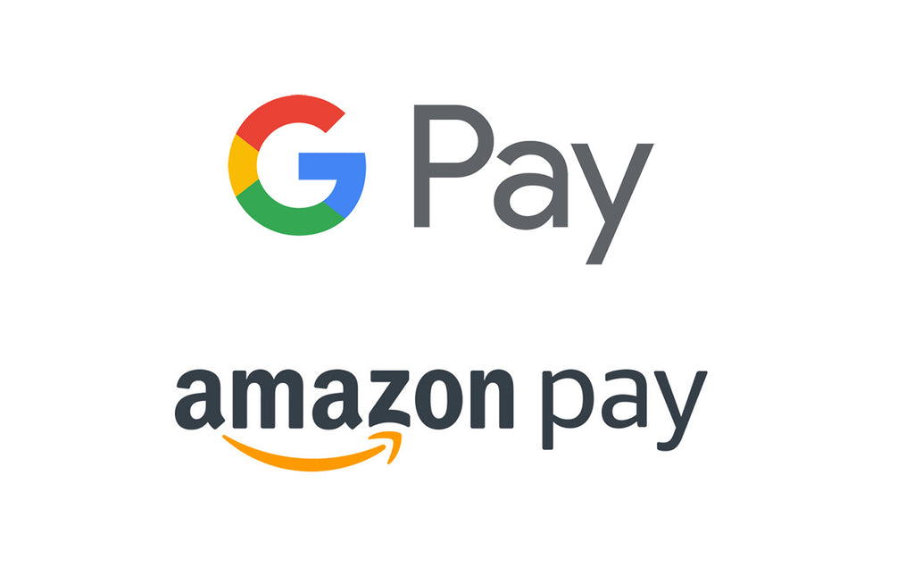 Now You Can Use Google Pay and Amazon Pay