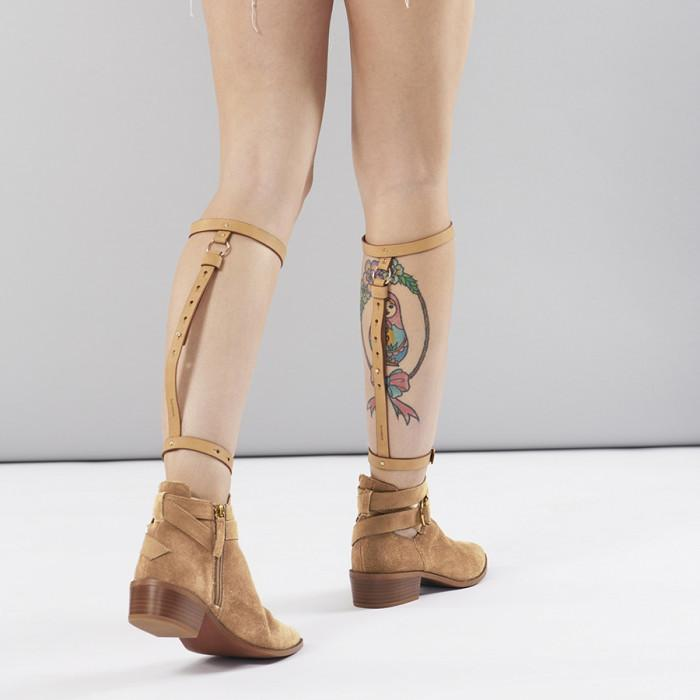 MAZE Knee & Ankle Garters Brown