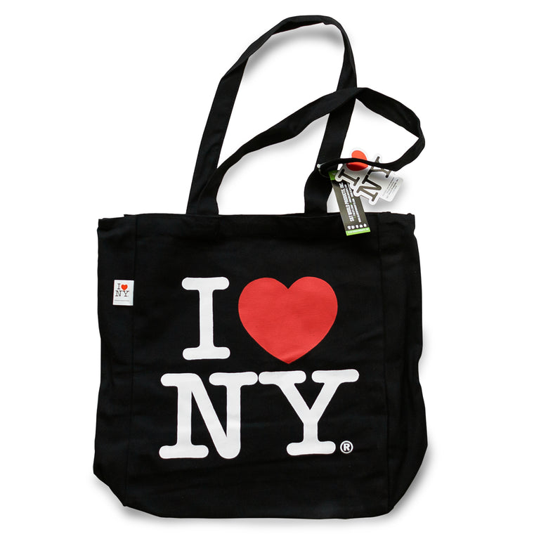 I ❤ NY Black Canvas Tote