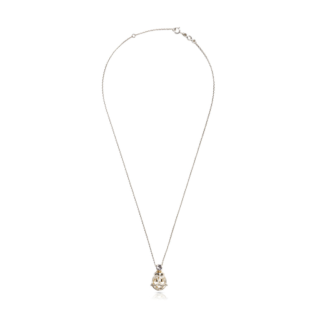 ENCHANTÉ CRYSTAL NECKLACE - 18K GOLD VERMEIL ON STERLING SILVER