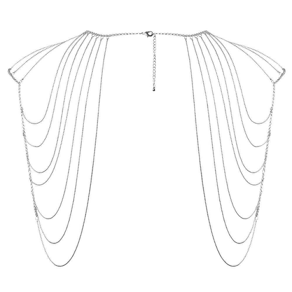 Magnifique Shoulders Chain Silver