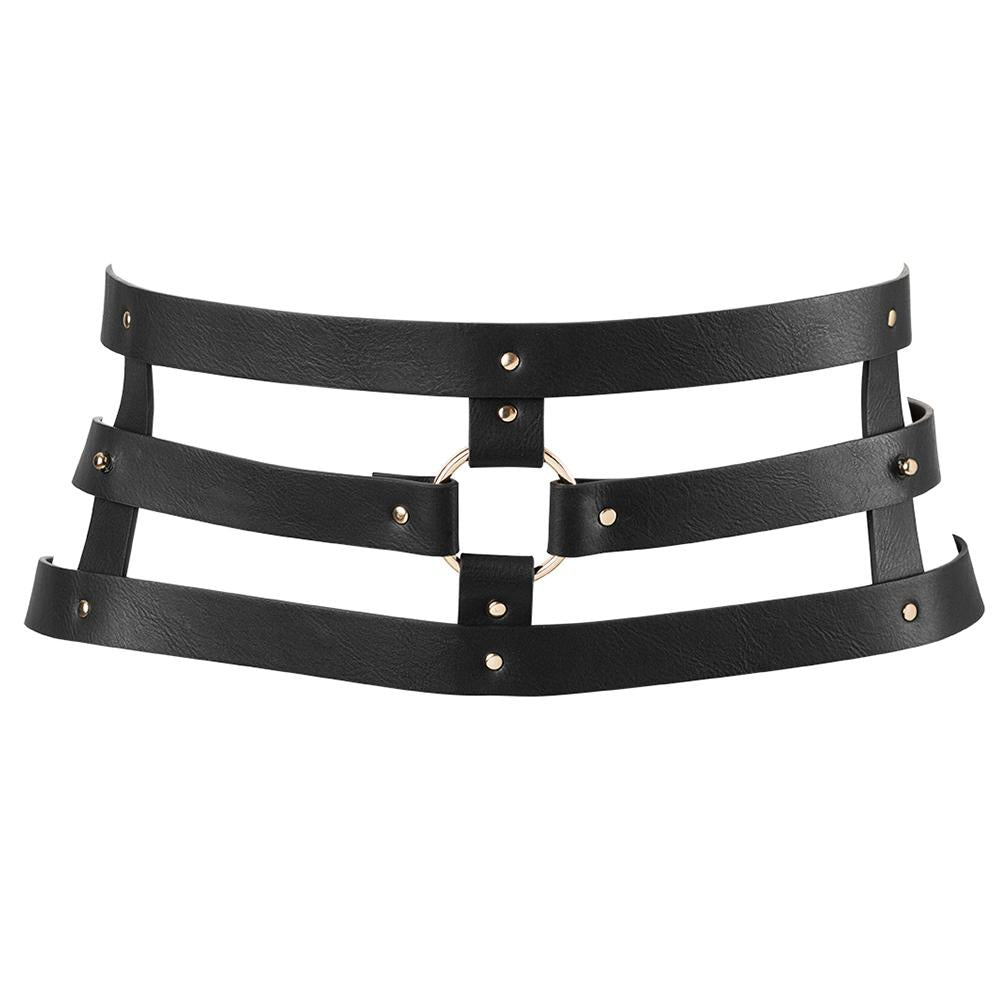 MAZE Wide Belt & Restraints Black