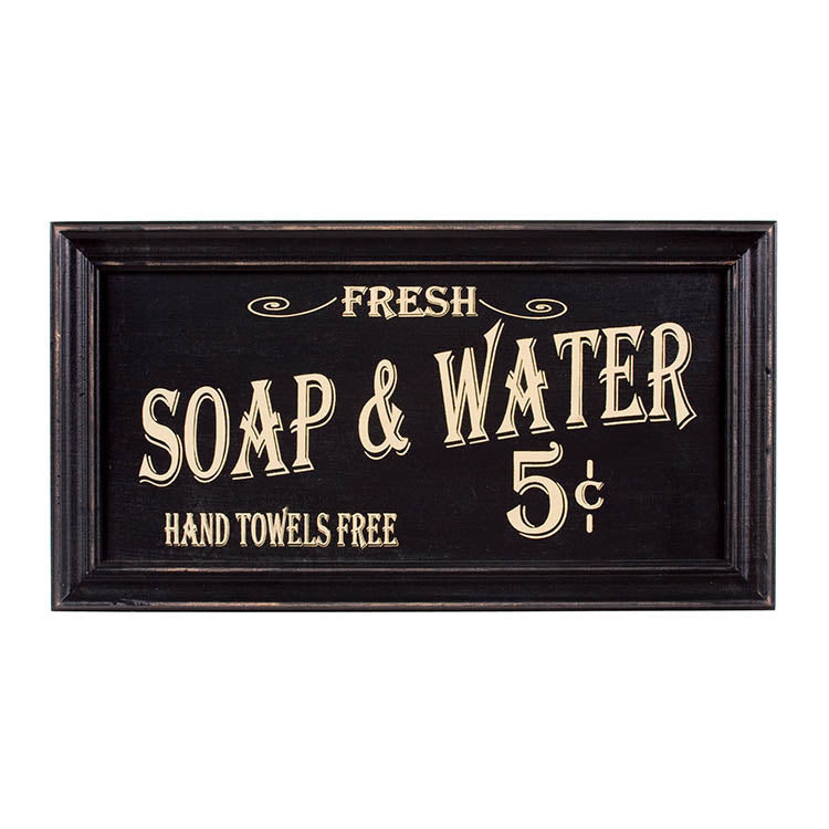 Vintage Bath Advertising Wall Art