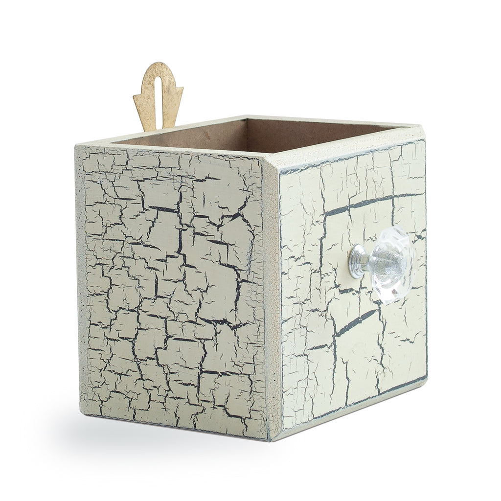 Crackled Table Wall Box