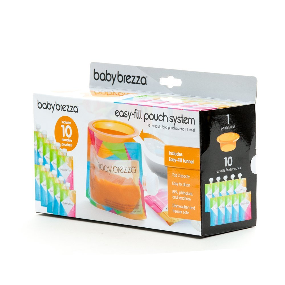 Baby Brezza Easy-fill Pouch System 10 Pouches