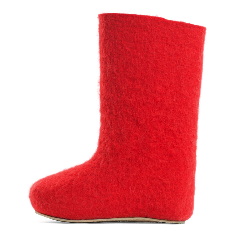Valenki Women Basic Red