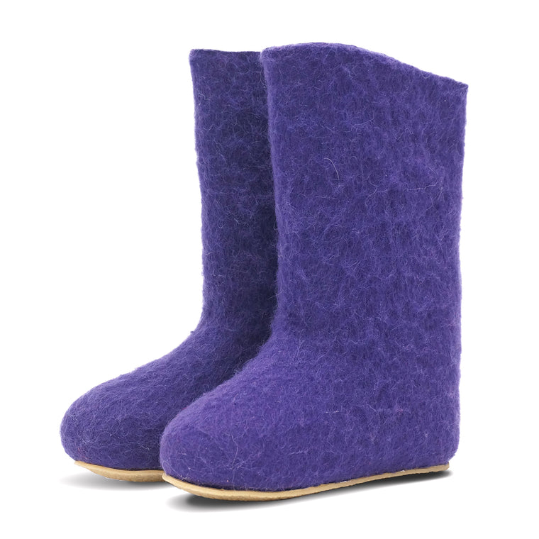 Valenki Women Basic Purple 24cm