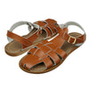 Salt-Water Sandals Original Shark ruskeat lasten sandaalit