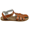 Salt-Water Sandals Original Shark ruskeat lasten sandaalit sivusta