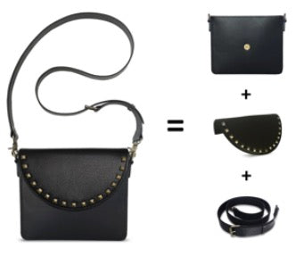 Ulloo Interchangeable Handbag - Components to create full bag