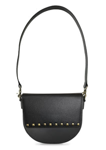 BandalHalf-moon-Body-Black-NemoRectangular-Flap-BlackStud-Shoulder-Strap-Black