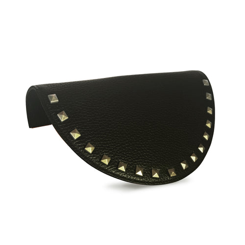 Black Stud Half Moon