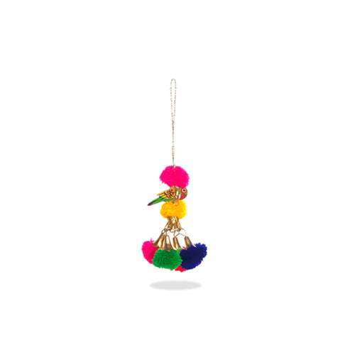 Colorful Bird Pompom