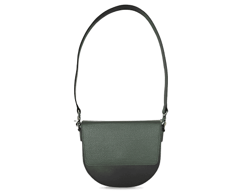 BandalHalf-moon-Body-Black-NemoRectangular-Flap-OliveGreen-Shoulder-Strap-Black