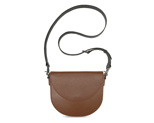 BandalHalf-moon-Body-Brown-BandalHalf-moon-Flap-Brown-Crossbody-Strap-BlackStud