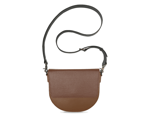 BandalHalf-moon-Body-Brown-NemoRectangular-Flap-Brown-Crossbody-Strap-BlackStud