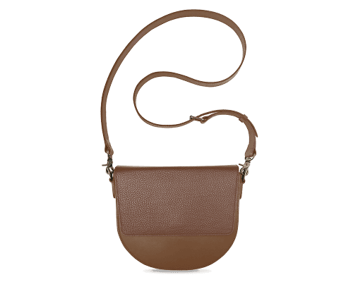 BandalHalf-moon-Body-Brown-NemoRectangular-Flap-Brown-Crossbody-Strap-Brown