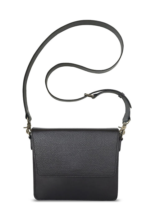 Black Rectangular Body with Black Rectangular Flap