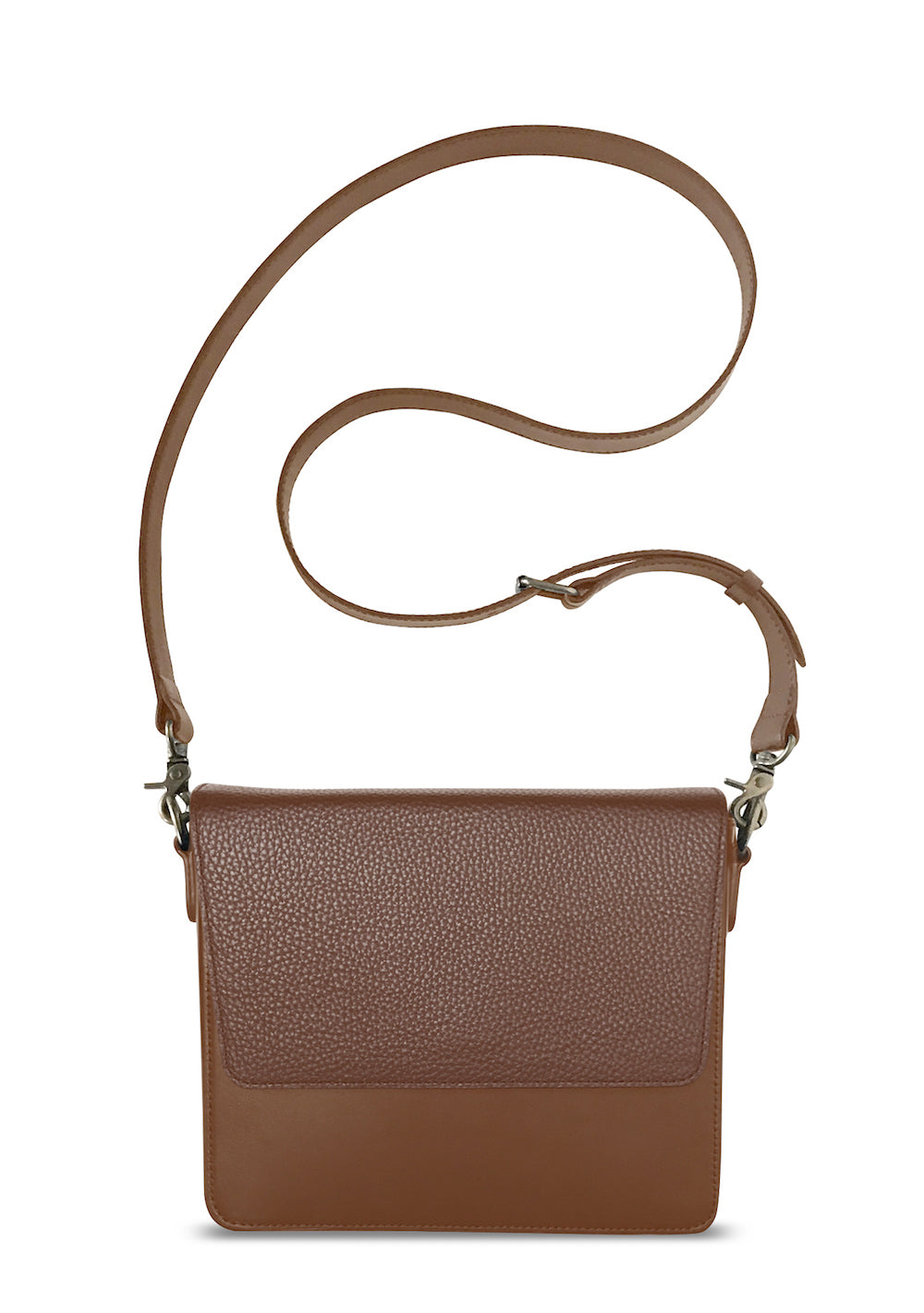 Brown Rectangular Body with Brown Rectangular Flap